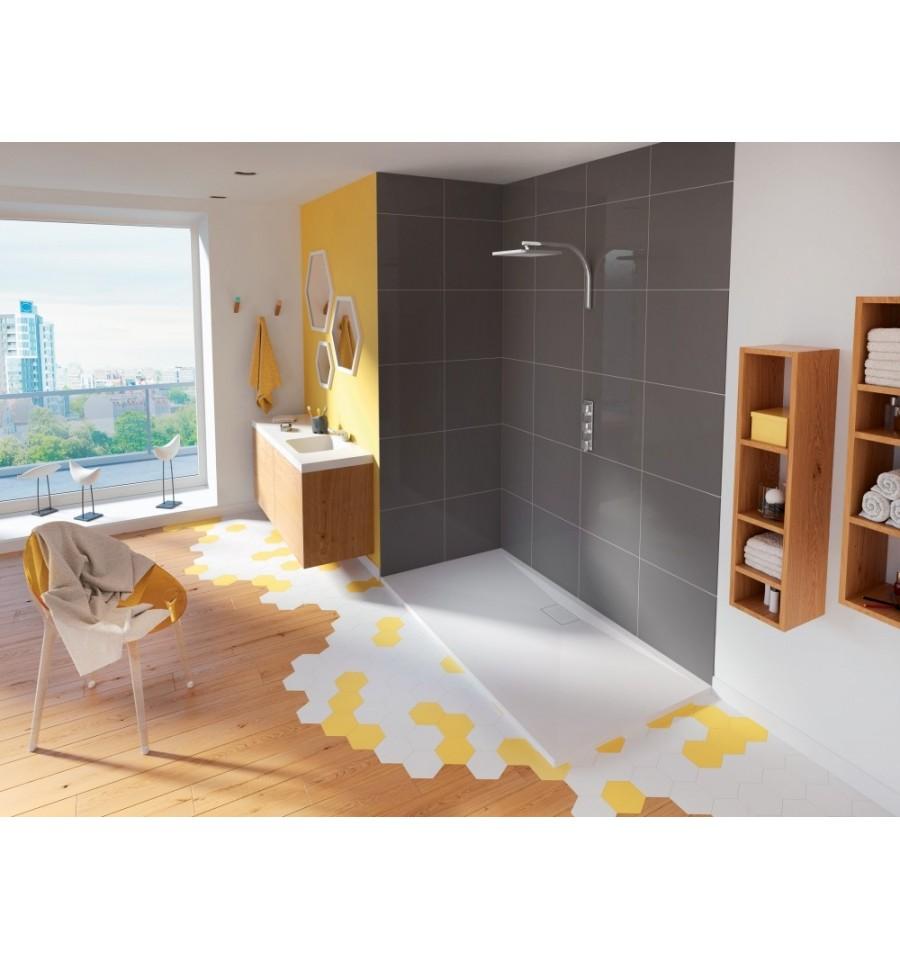 Receveur douche kinesurf 160x70 color extraplat par kinedo prix pas cher - Receveur douche pas cher ...