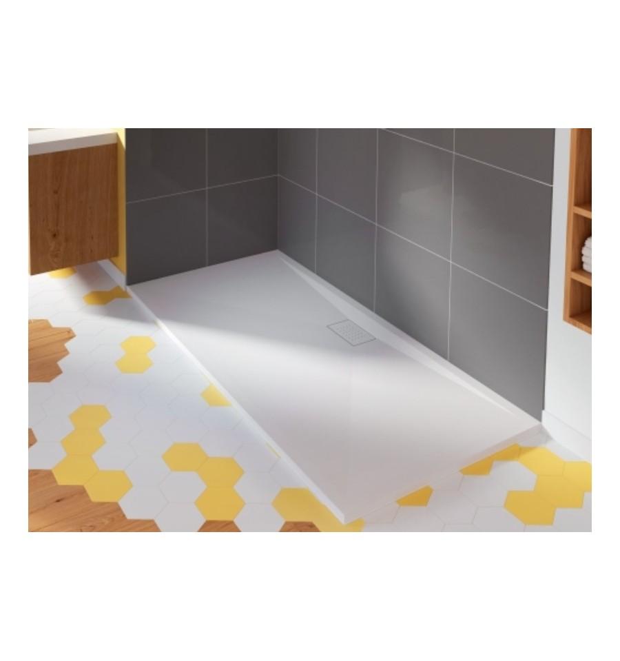 receveur douche kinesurf 140x90 color extraplat par kinedo prix pas cher. Black Bedroom Furniture Sets. Home Design Ideas