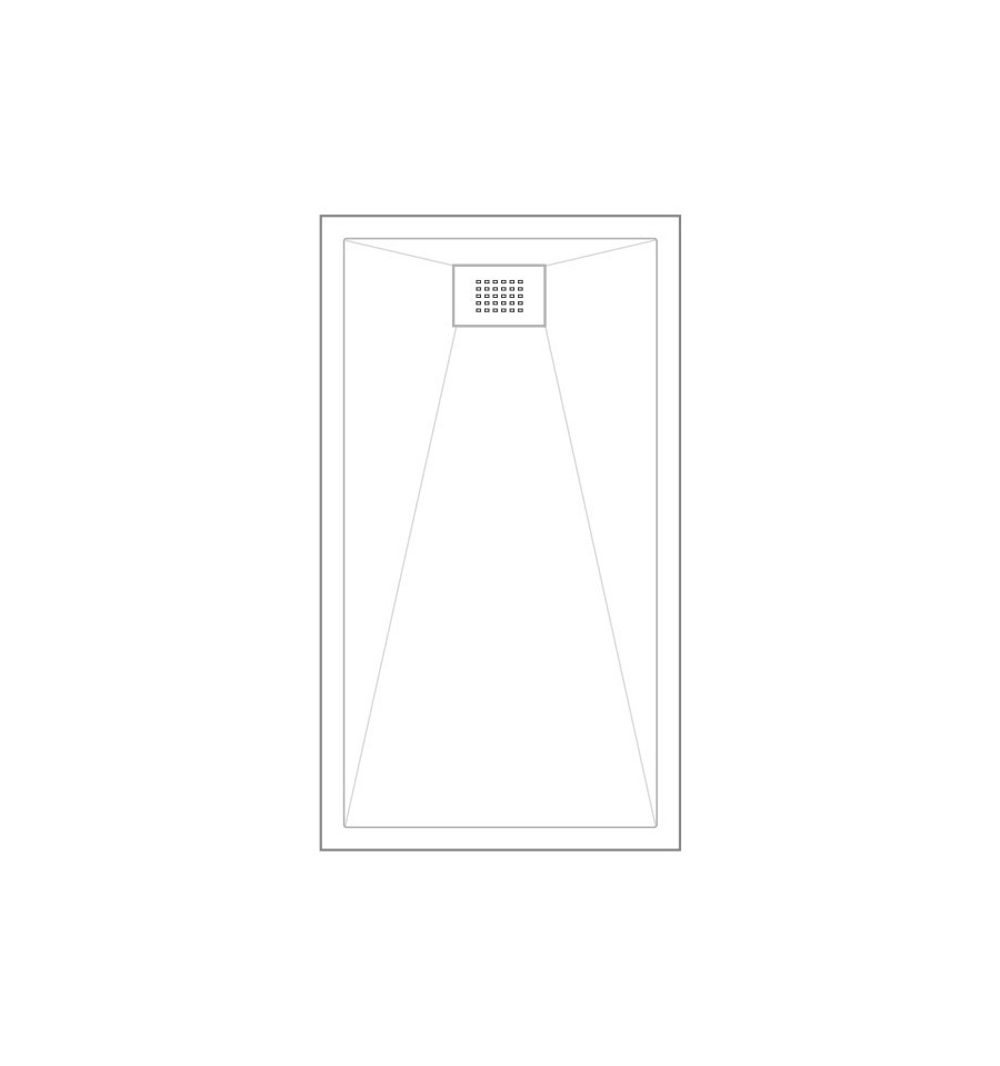 Receveur douche kinesurf 140x70 color extraplat par for Baignoire 140x70 pas cher