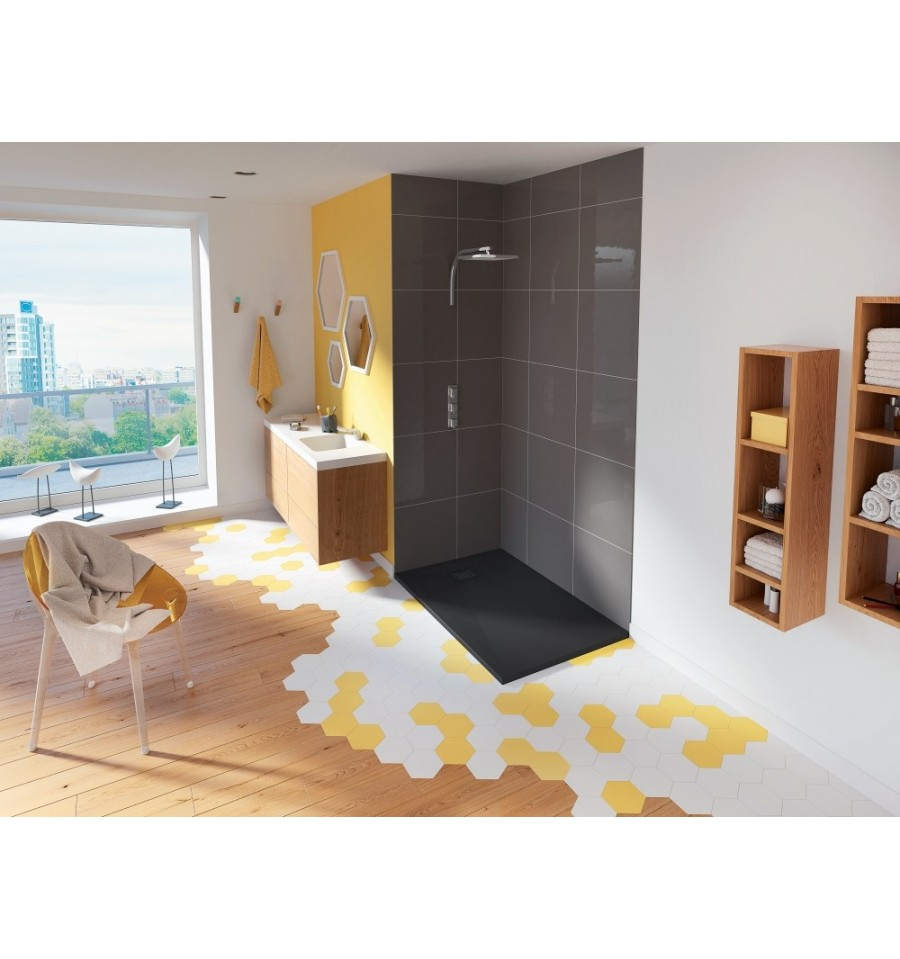 receveur douche kinesurf 160x90 color extraplat par kinedo prix pas cher. Black Bedroom Furniture Sets. Home Design Ideas