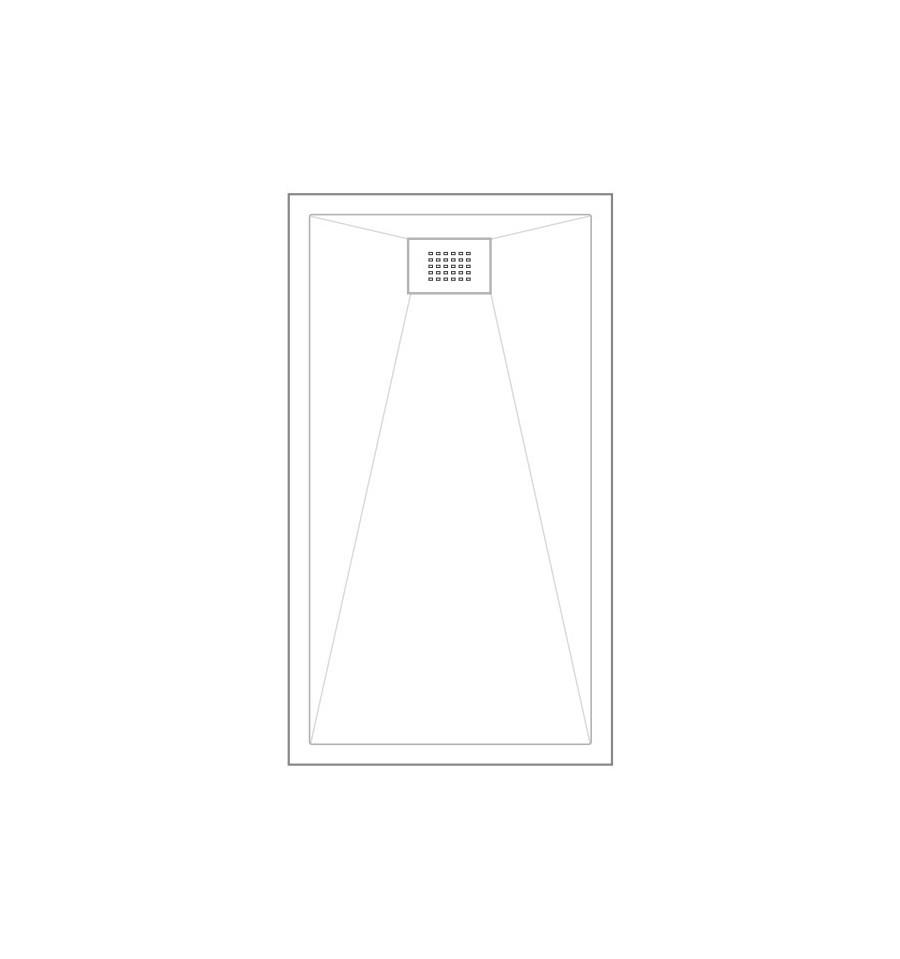 receveur douche kinesurf 170x70 color extraplat par kinedo prix pas cher. Black Bedroom Furniture Sets. Home Design Ideas