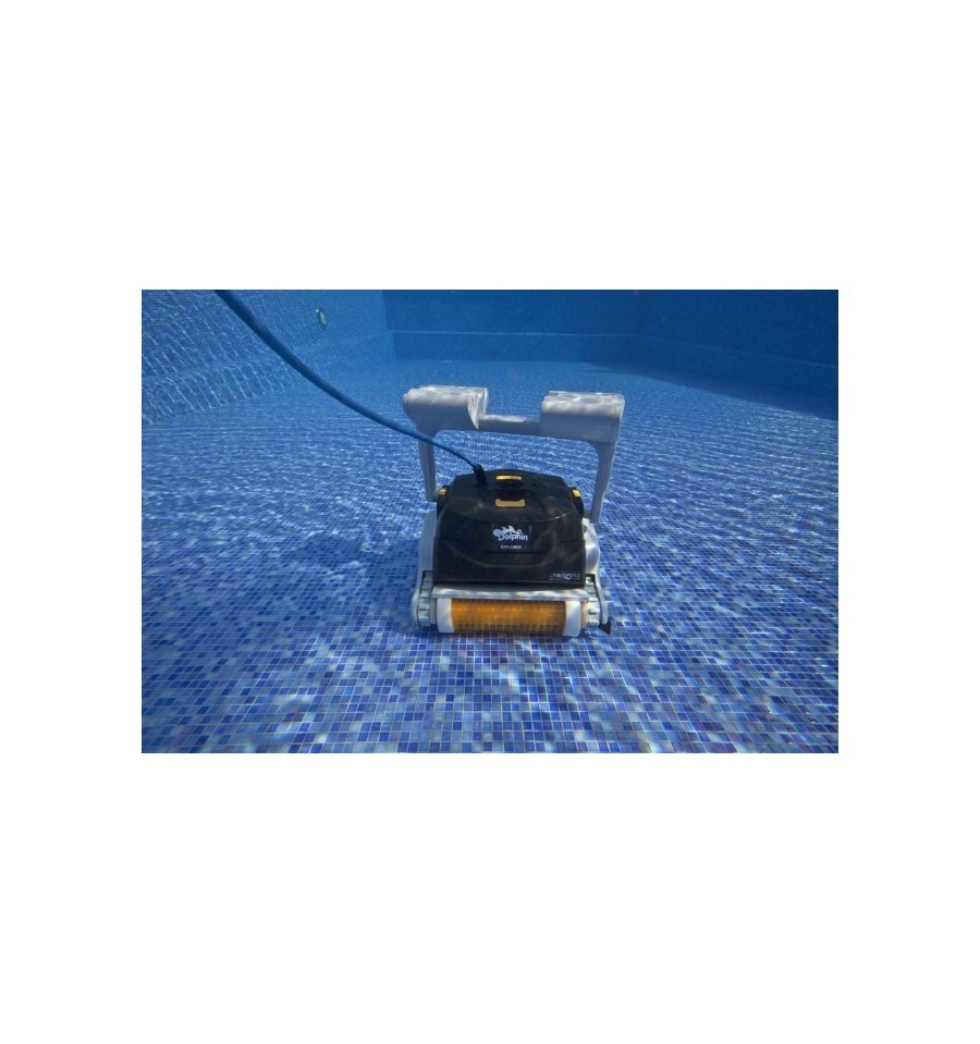 Robot piscine electrique dolphin explorer maytronics for Robot piscine maytronics