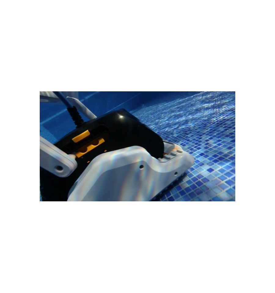 Robot piscine electrique dolphin explorer maytronics for Robot electrique piscine