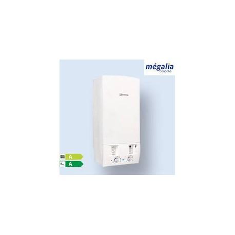 Chaudière Gaz à Condensation Megalia Condens Réno 24Kw 12l/min AGVAC21-6MN ELM Leblanc