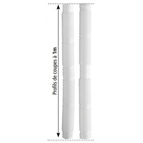 Tuyau Flexible PP 60 Isotip Joncoux pour Evacuation Fumées Chaudière à Condensation