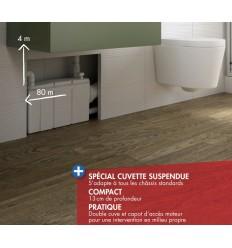 W16P Watermatic - Broyeur Adaptable pour Cuvette WC Suspendu