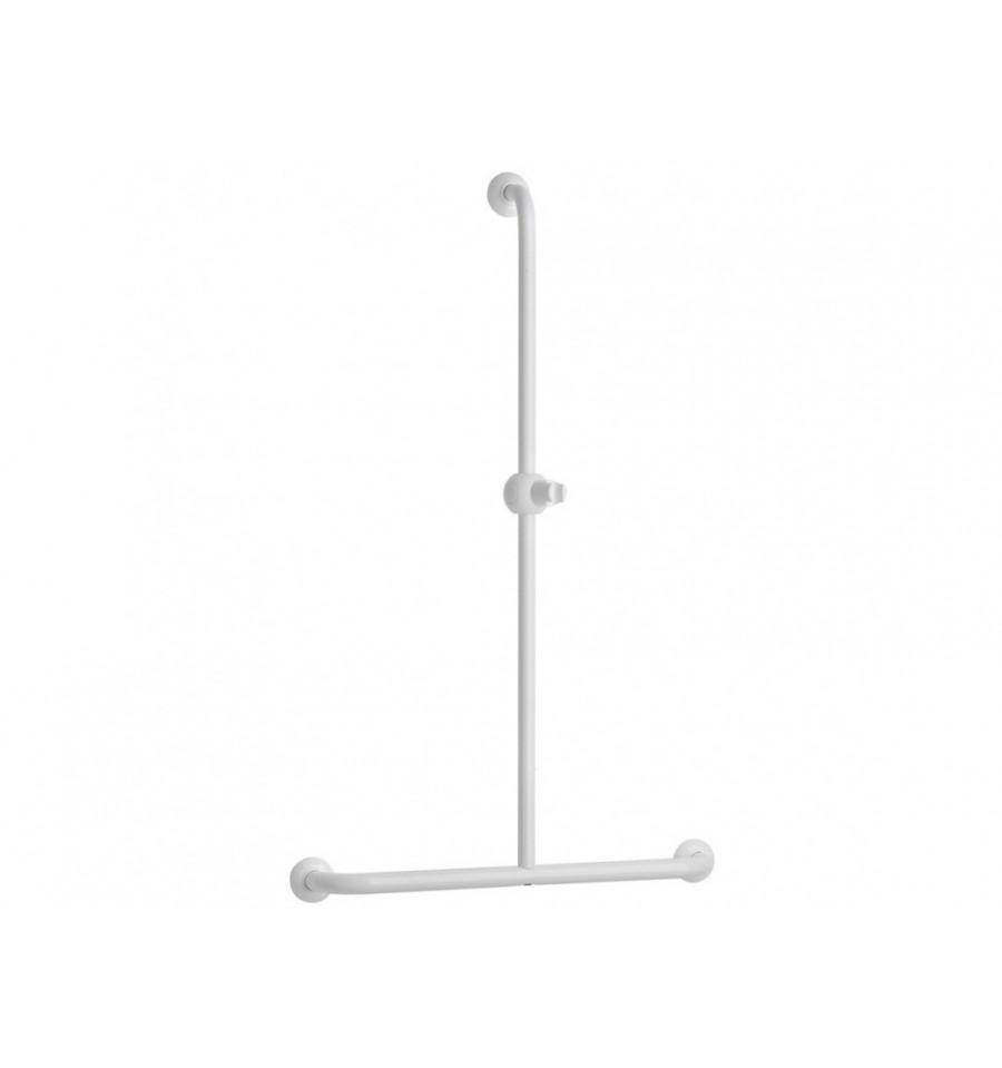 barre de douche en t avec support douchette coulissant pellet asc prix barr. Black Bedroom Furniture Sets. Home Design Ideas