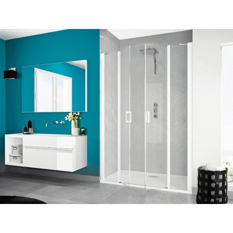 portes de douche pivotantes smart 2p xxl sans seuil kinedo 140 x 200 5 cm prix douch ici. Black Bedroom Furniture Sets. Home Design Ideas