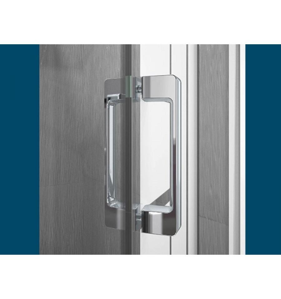 Porte de douche smart s sans seuil kinedo 90 x 200 5 cm - Porte douche pliante 90 ...