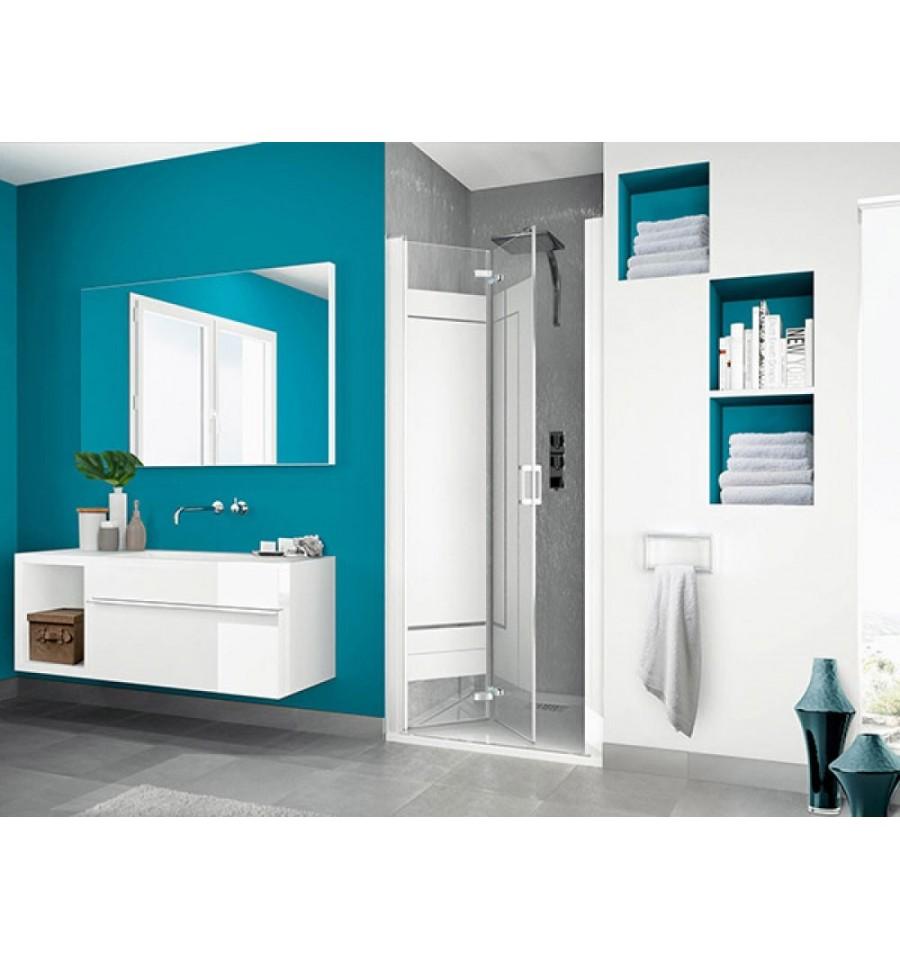 porte de douche smart s sans seuil kinedo 100 x 200 5 cm. Black Bedroom Furniture Sets. Home Design Ideas
