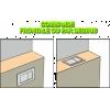 Pack Bâti-Support Autportant Evo Regiplast + Plaque de Commande Globe pour WC Suspendu