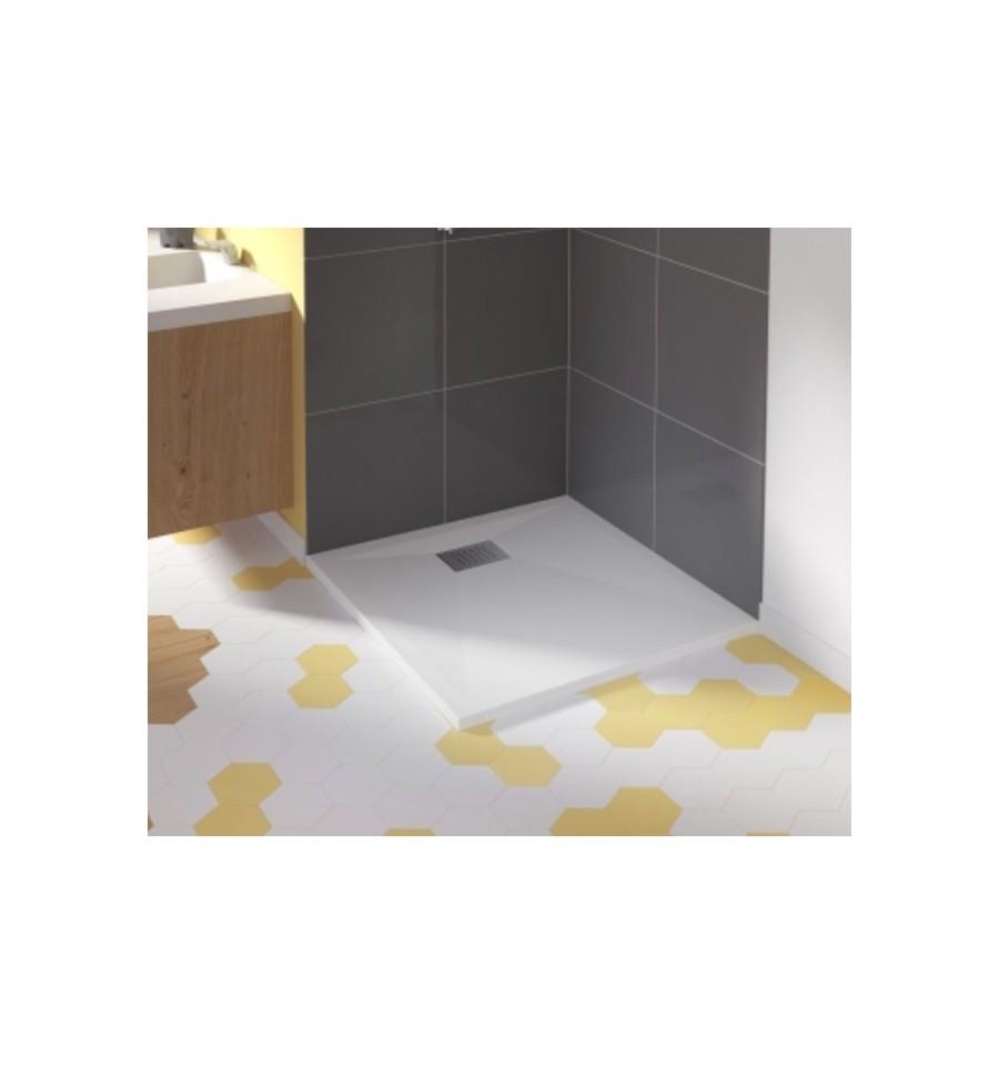 receveur douche kinesurf carr de kinedo prix douch et pas cher. Black Bedroom Furniture Sets. Home Design Ideas