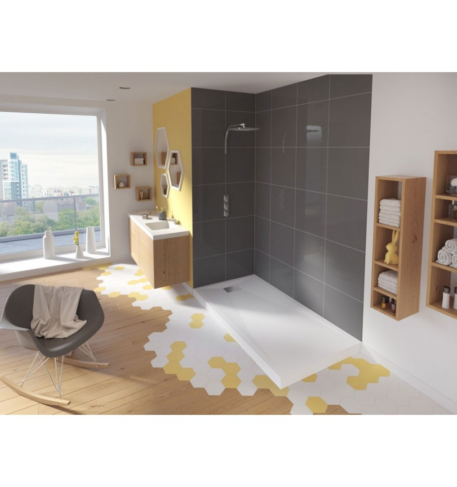 receveur douche kinesurf rectangle de kinedo prix douch pas cher. Black Bedroom Furniture Sets. Home Design Ideas