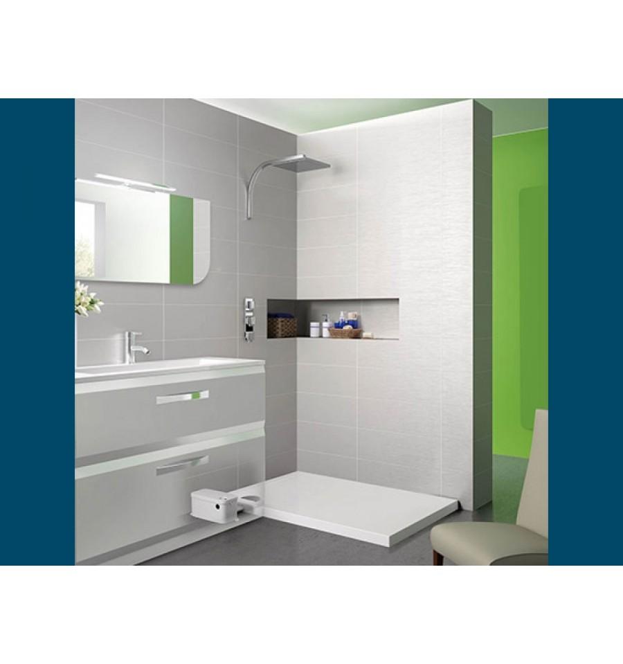 receveur douche kinematic kinedo avec pompe de relevage. Black Bedroom Furniture Sets. Home Design Ideas