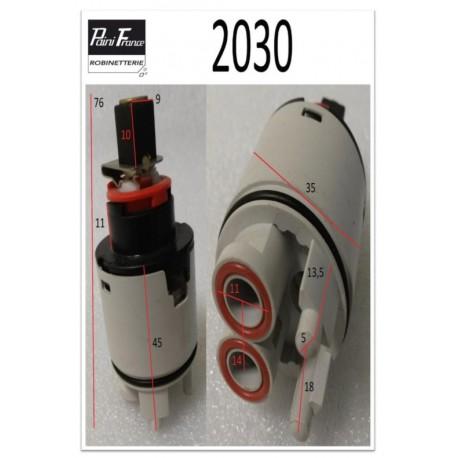 Cartouche Ø35mm 2030 de Paini france Avec Point Dur et Limiteur de Température