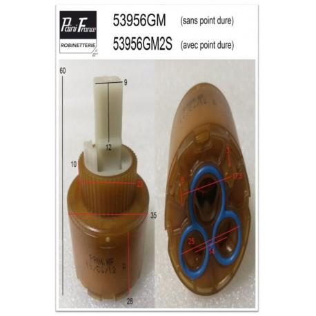Cartouche Ø 35 mm 53956GM pour Mitigeurs de Paini france