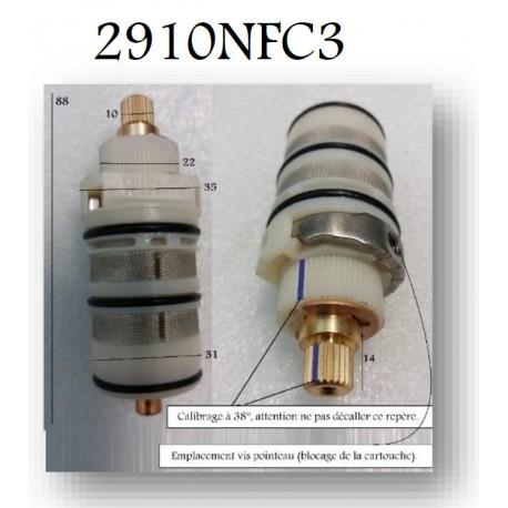Cartouche Thermostatique 2910NFC3 pour Mitigeurs de Paini France