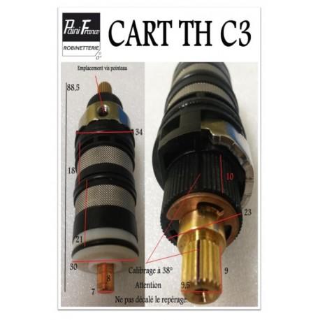 Cartouche Thermostatique CART-THC3 pour Robinetterie Paini France