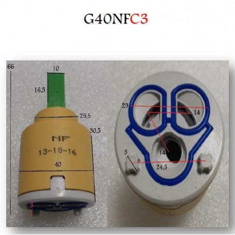 Cartouche Ø 40 mm G40NFC3 pour Robinetterie Paini France