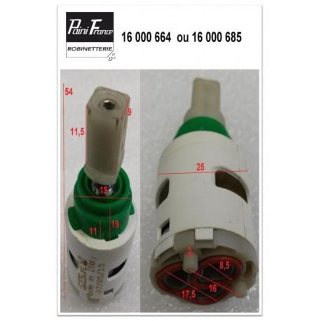 Cartouche Ø 25 mm 16000664 pour Robinetterie Paini France