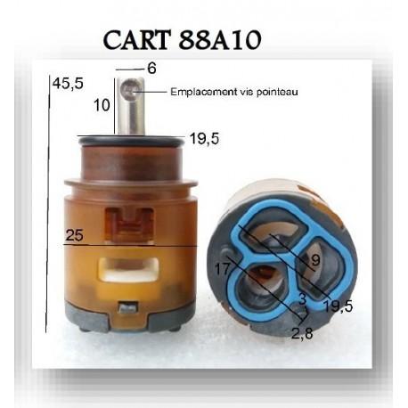 Cartouche Ø 25 mm CART-88A10 pour Robinetterie Paini France