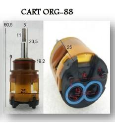 Cartouche Ø 25 mm CART-ORG-88 pour Robinetterie Paini France