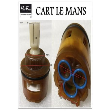 Cartouche Ø 35 mm CART-LE-MANS pour Robinetterie Paini France