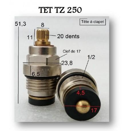 Tête à clapet TET TZ250 de Paini France