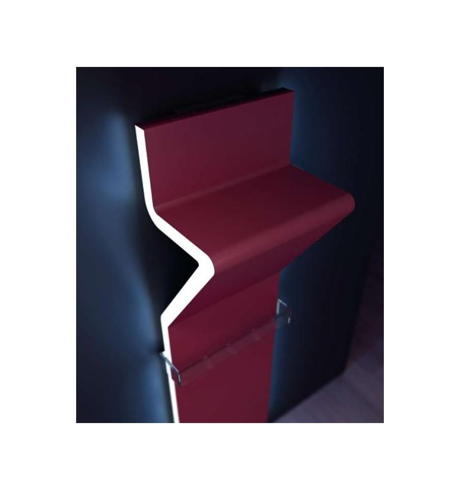 radiateur eau design tratto 1200 led par irsap prix. Black Bedroom Furniture Sets. Home Design Ideas