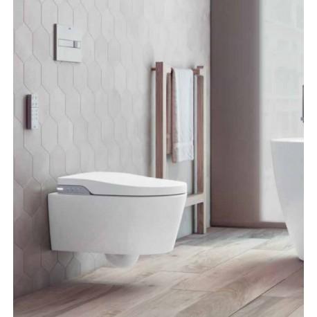 Cuvette de Toilette WC Lavant Japonais Suspendu In-Wash Inspira Roca