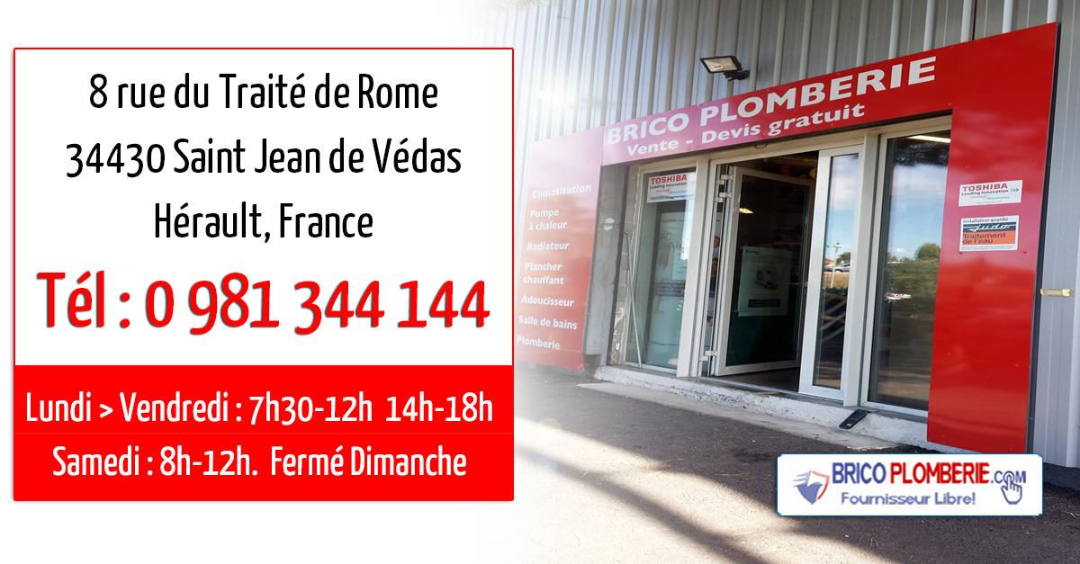 Ets FROSSARD - BRICO PLOMBERIE - 34430 Sainte Jean de Védas